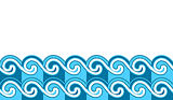 waves border