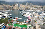 Monaco harbour, Monte Carlo
