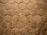 Wood Hexagon Pattern
