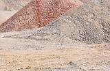 Waste rock heap