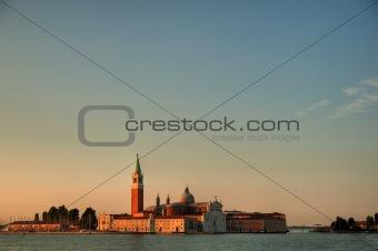 Church on the island - Venice