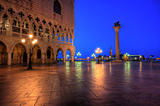 Duks palace on st. Marks square in Venice Italy