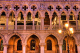 Dukes palace on st Marks square in Venice