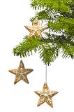 Tree star shape cookies as Christmas tree decoration