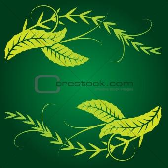 foliage design element