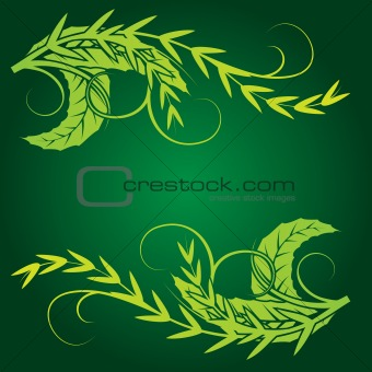 foliage design element