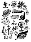 natural objects (hand drawn)