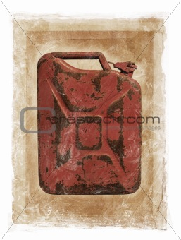 Grunge Jerry Can