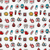 seamless hospital element pattern