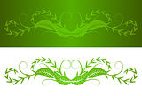 decorative foliage shape