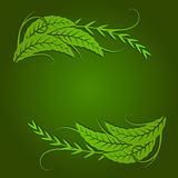 elegant foliage shape