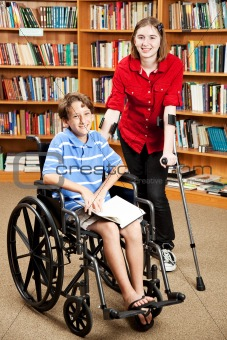 Disabled Kids at School