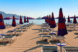 sand beach in Giardini Naxos