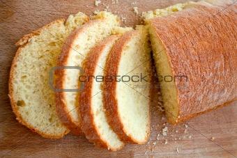 sliced sicilian bread