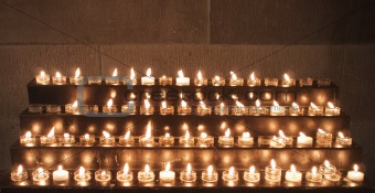 Prayer Candles In Church
