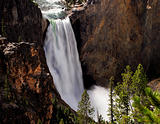 Lower Yellowstone Waterfall