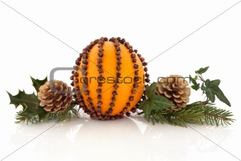 Orange and Clove Pomander