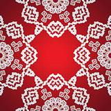 Seamless snowflake background