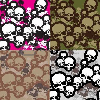 skulls camo