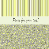 vector seamless pattern with place for your text