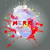 Stylized christmas card