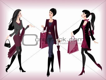 Fashionable women