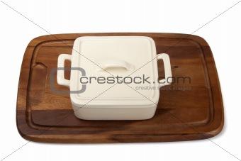 Ceramic pot for stove
