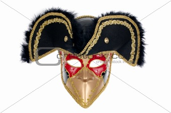 Beautiful carnivale mask