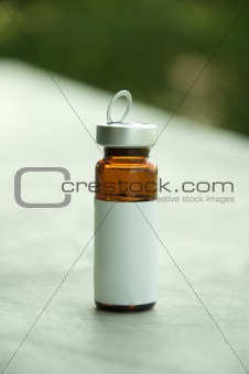 Small bottle for medicines