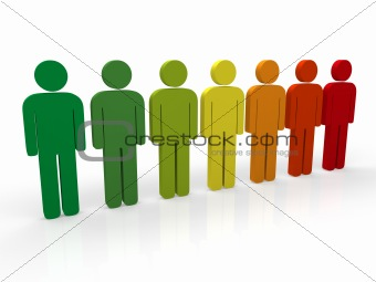 3d people group