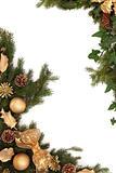Christmas Decorative Border