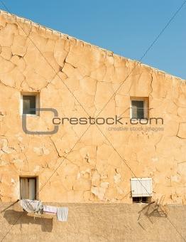 Slum facade