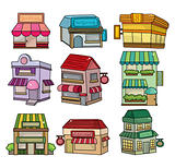 cartoon house icon