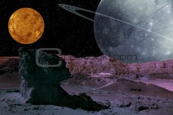 Alien Planet System.