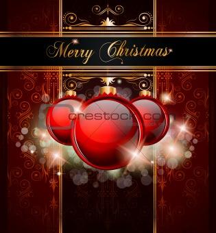 Elegant Merry Christmas  background
