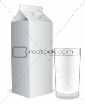 Milk pack.