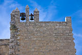 A bell-tower of monastery Beit-Gamal in Israel