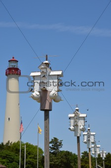 Cape May Birdhouse and Lighthouse