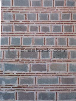 Old Stone & Brick Wall