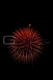 Firework festival in Japan