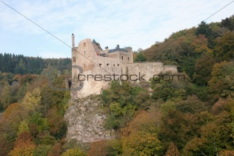 Castle ruins Idar Oberstein,Germany