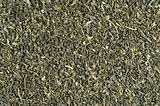 dry green tea background