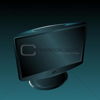 flat panel lcd led monitor television