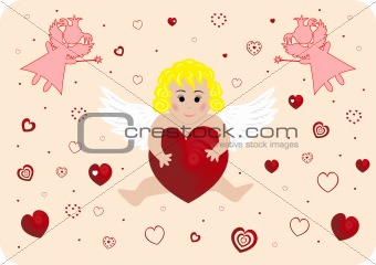 Little angel with big heart