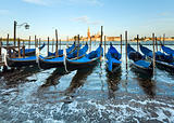  Venice gondolas