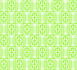 Light green abstract geometric pattern for the background, (vector