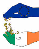 European financial aid for Ireland