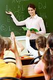 Explanation of teacher