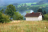 Rural landscape Serbia