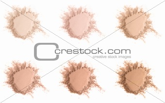Face powder set